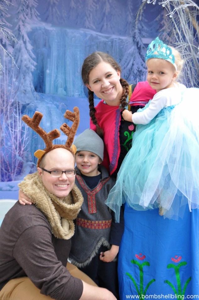 Frozen Family Costumes Elsa Tutu Dress -7