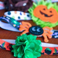 Halloween Hair Accessories . . . in a Hurry!