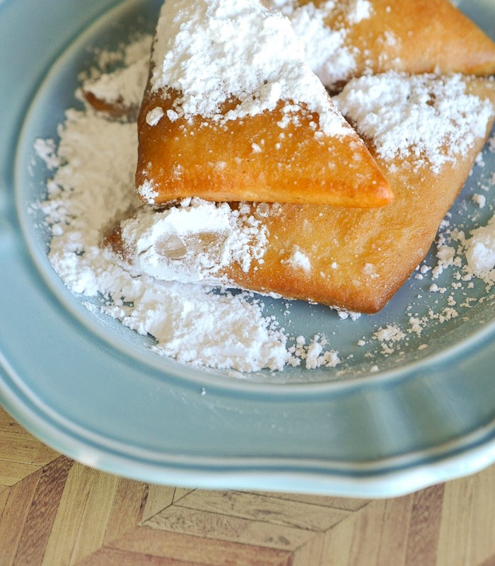 Our family has been making these New Orleans beignets for special mornings for years! YUM!