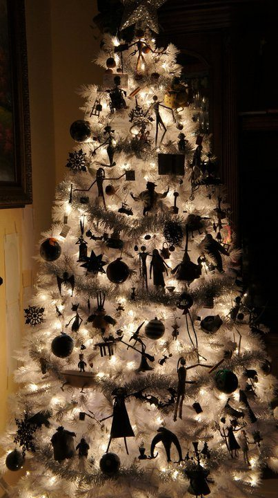 nightmare before christmas tree - Night Before Christmas Decorations