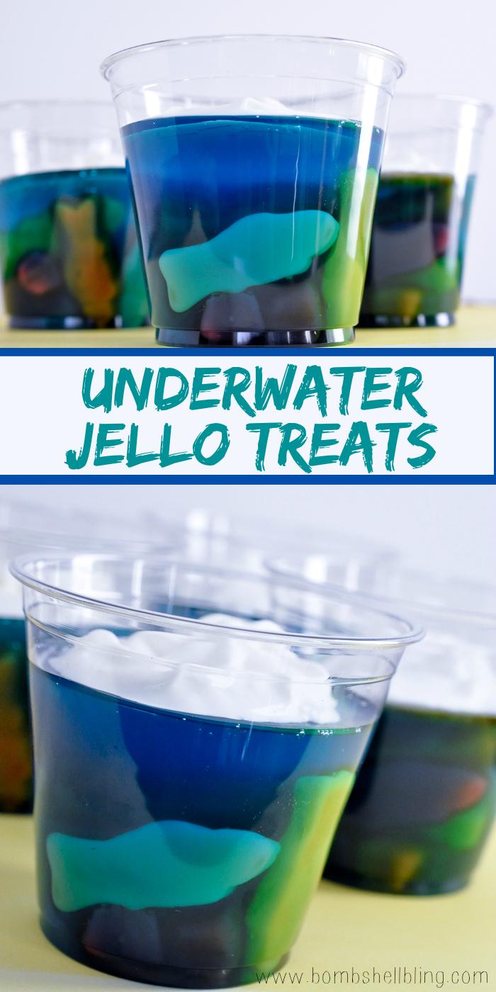 Underwater Jello Treats