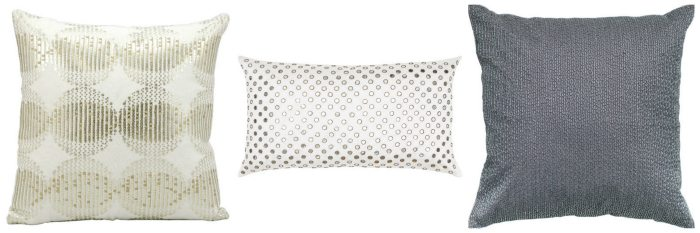 A Blingy Accent Pillow!