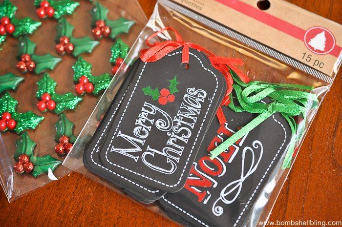 Chicken Wire Christmas Card Holder-4
