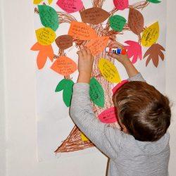 Gratitude Tree Scavenger Hunt