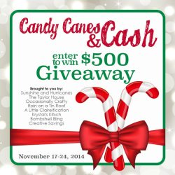Candy Canes & Cash Giveaway – Win $500 CASH!