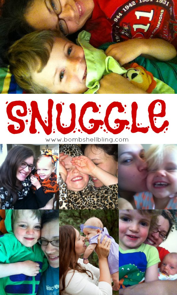 My One Word Goal for 2014 SNUGGLE