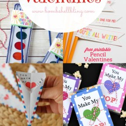 30 Non Candy Valentine Ideas & Printables