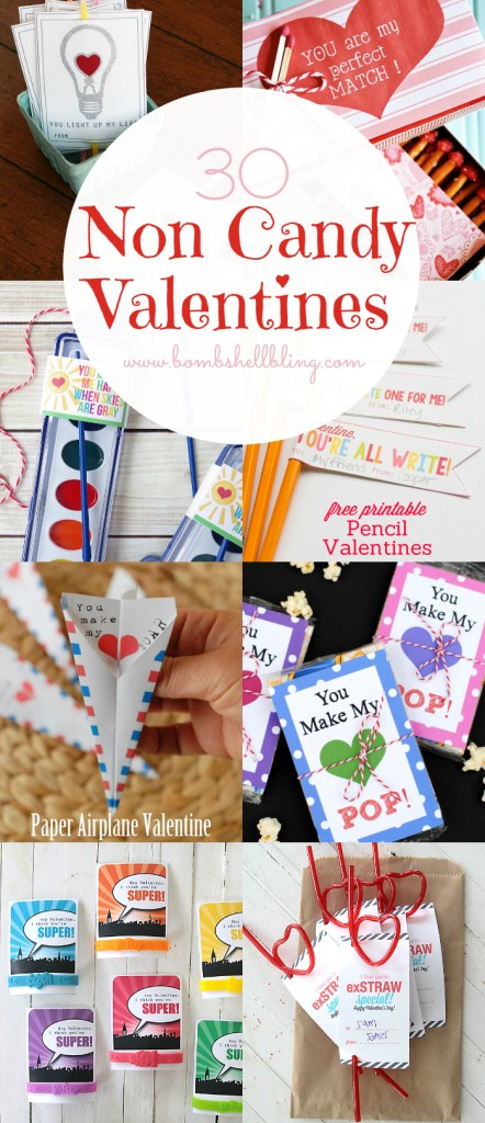 30 Non Candy Valentines Ideas and Free Printables