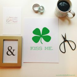 KISS ME Printable
