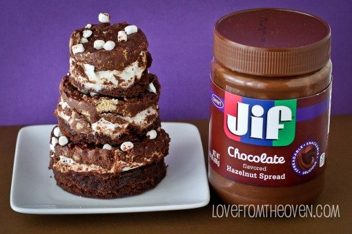 JIF-Chocolate-Hazelnut-Spread-Smores-Crunch-Brownies-by-Love-From-The-Oven-2-11-510x340