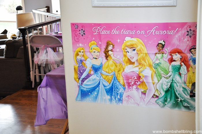 Bippity boppity boutique party princess wall poster