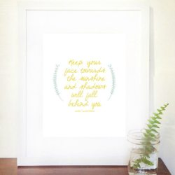 Inspirational Walt Whitman Quote Printable