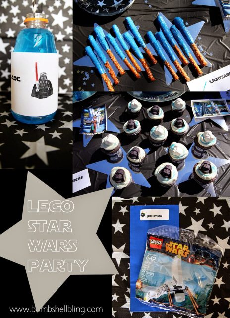 disney birthday party Star Wars Lego birthday party