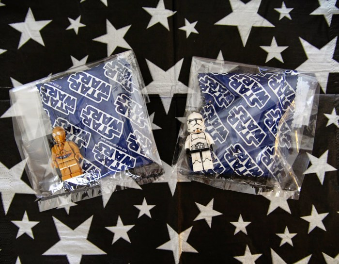 Star Wars Lego clear party favor bags