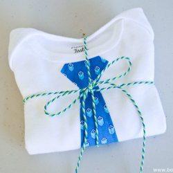 Quick and Simple Tie Onesie