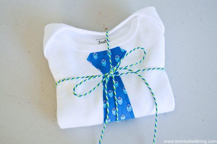 Bow Tie Onesie-7