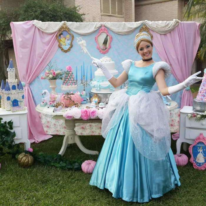 Disney princess parties Cinderella party