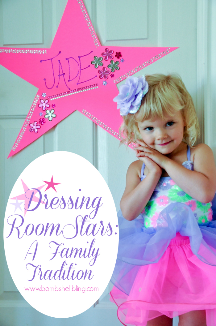 "How to make a ""Dressing Room"" Star for plays and recitals ---- SUCH a cute familiy tradition!!"