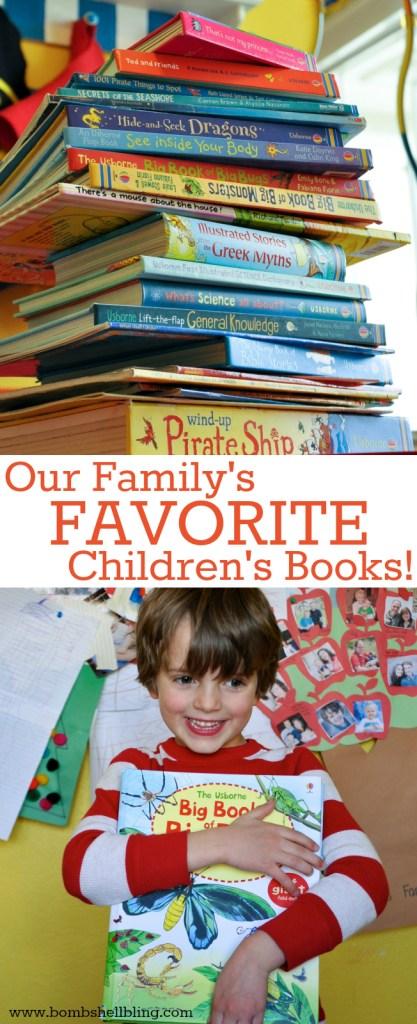 Our Family's FAVORITE Children's Books!