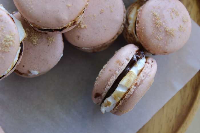 S'mores Macarons-10