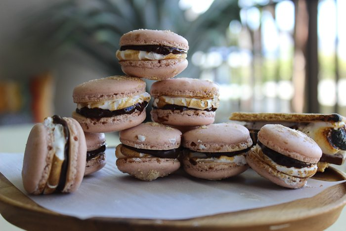 S'mores Macarons-8