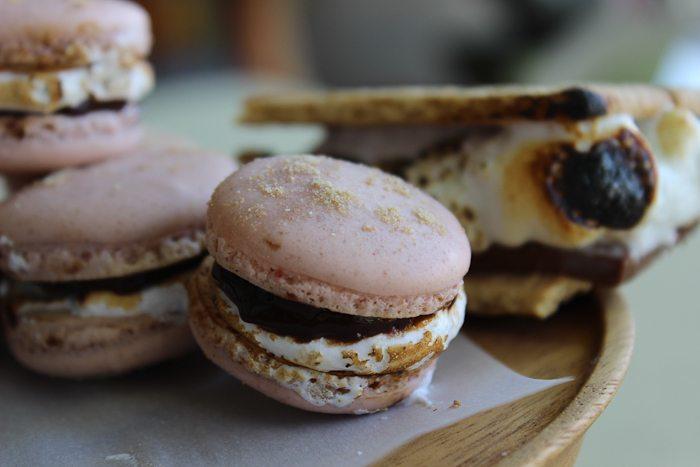 S'mores Macarons-9