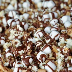 S'mores Popcorn Recipe: S'MORES SATURDAYS IS BACK !!!