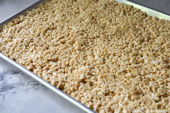 S'mores Rice Krispie Treat Sandwiches-3