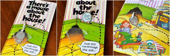 books for kids There's a Mouse About the House! collage