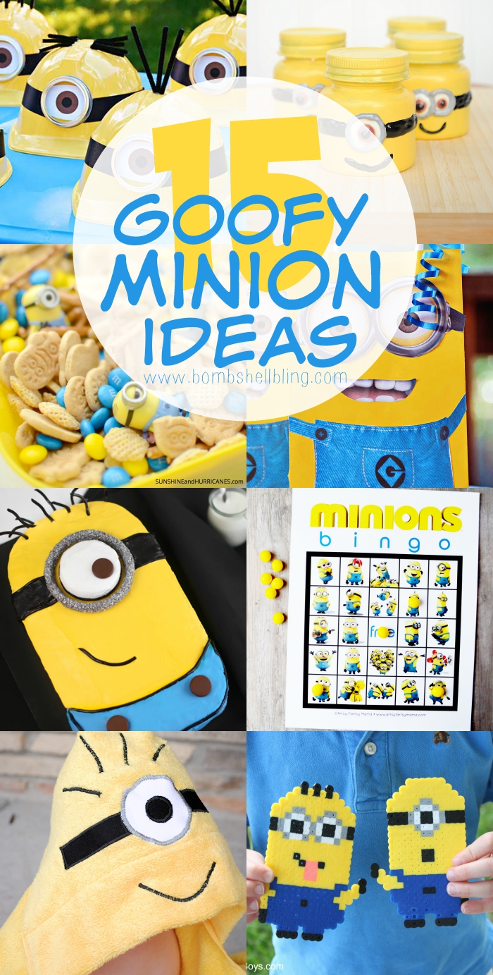 Minion Ideas long pin collage