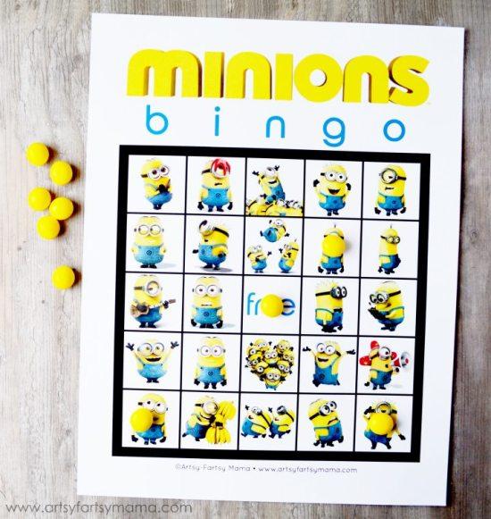*Minions-Bingo