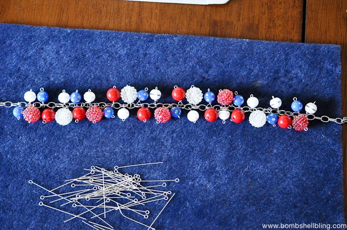 Patriotic Bauble Necklace Tutorial-14