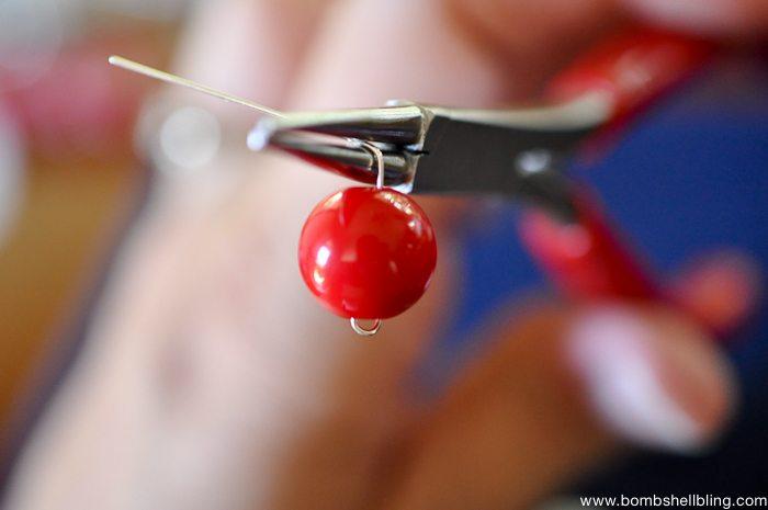 Patriotic Bauble Necklace Tutorial-8