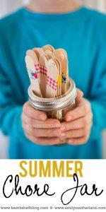 Summer Chore Jar