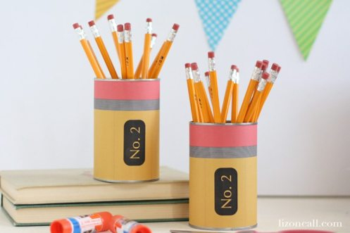 printable pencil can wrapper for back to school @lizoncall.com