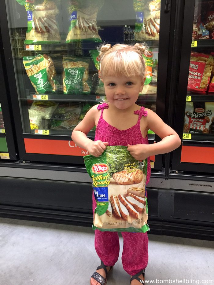 Tyson® Grilled and Ready®-Chicken Breast Strips at Walmart
