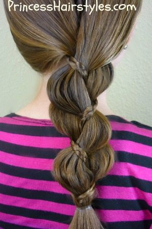 *braid inside a braid hairstyle