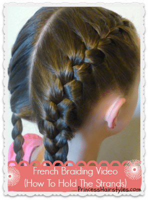 *how to french braid