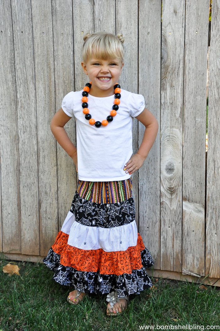 Halloween Maxi Skirt-2