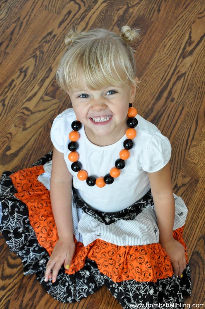 Halloween Maxi Skirt-7
