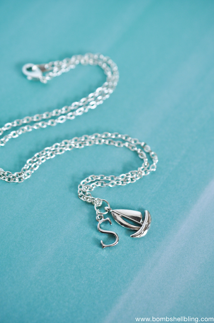 Nautical Charm Necklace Tutorial