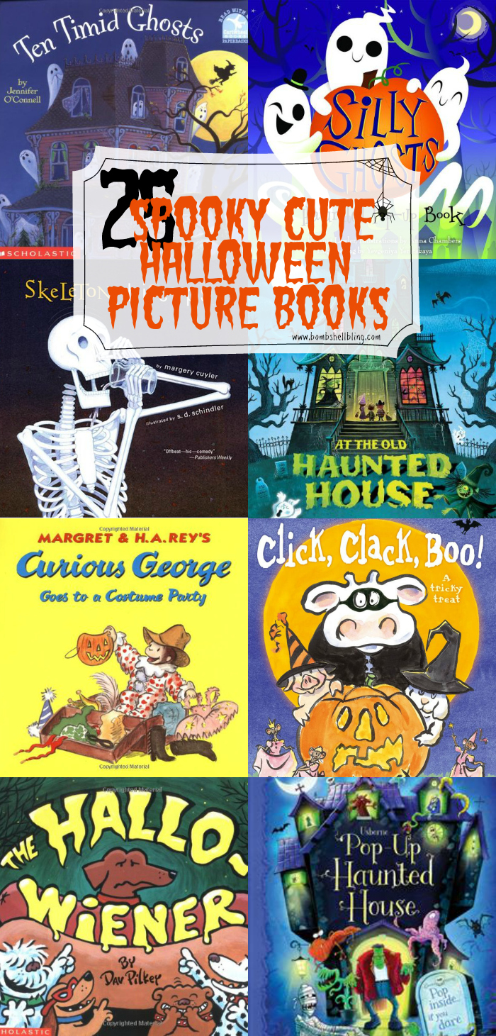 These are 25 of the best Halloween picture books available, along with a bonus section of Halloween activity books. Sure to delight your little goblins!