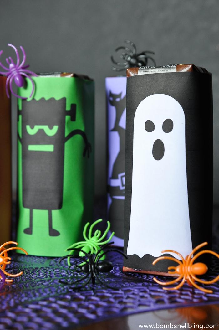 FREE Printable Halloween Juice Box Wrappers-3