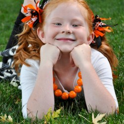 Halloween Firecracker Bows Tutorial