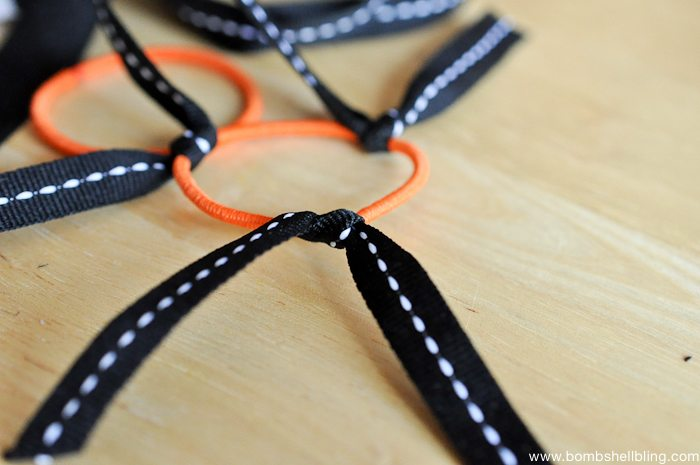 Halloween Ribbon Firecracker Bows-3