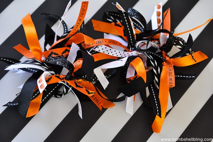 Halloween Ribbon Firecracker Bows-6