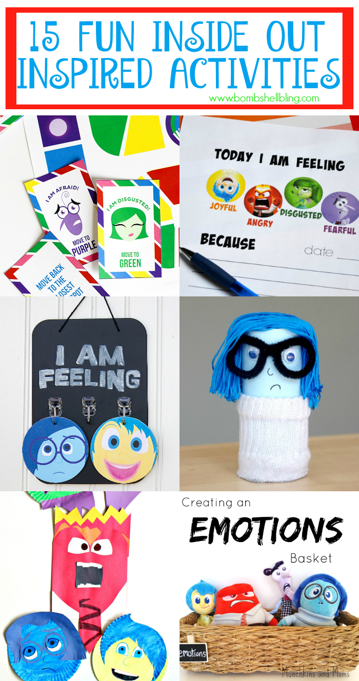 15 Fun Inside Out Inspired Activities to Do With Kids