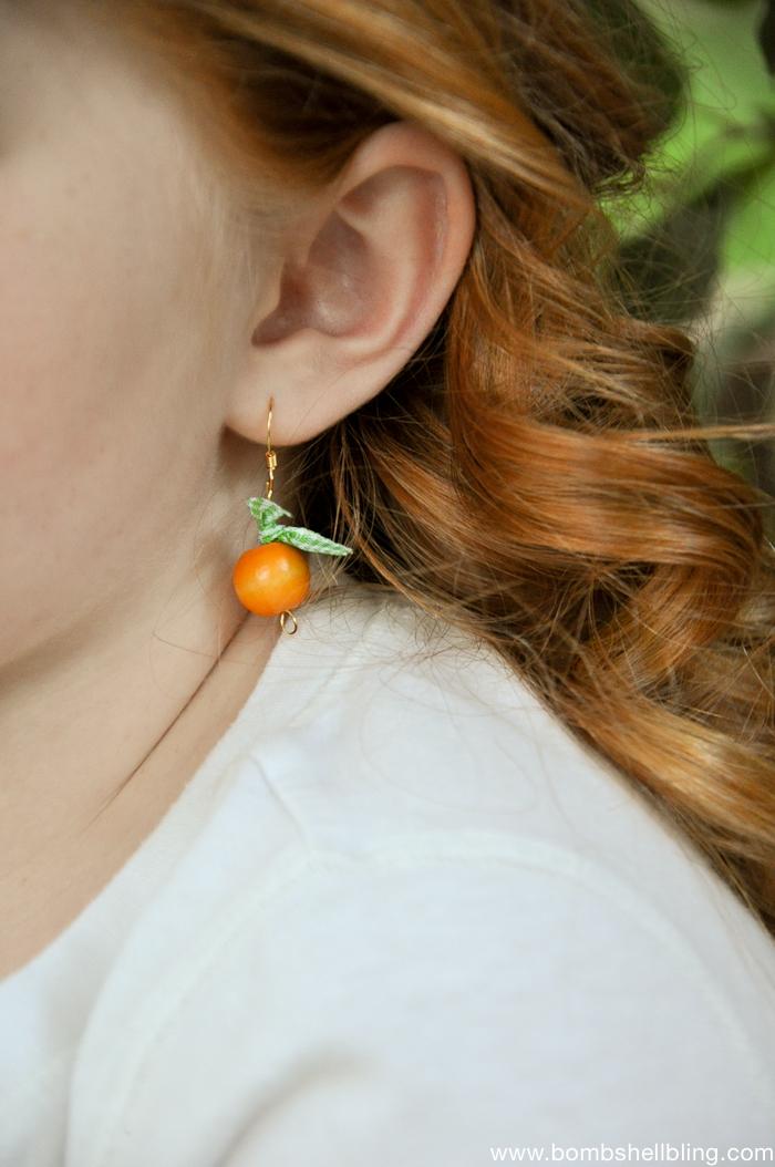 Pumpkin Inspired Earrings Tutorials-4