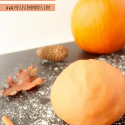 Pumpkin Spice Playdough Recipe