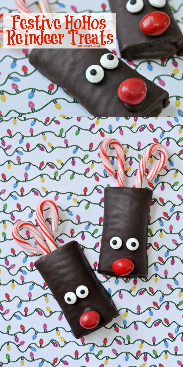 Festive HoHos Reindeer Treats on Bombshell Bling
